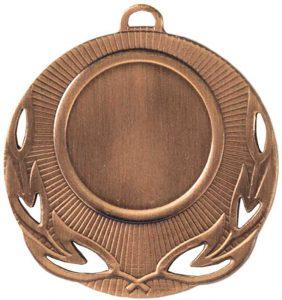 Medaglia colore bronzo diametro 50