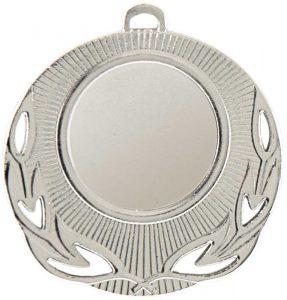 Medaglia colore argento diametro 50