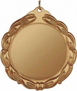 medaglia colore bronzo diametro 70