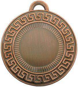 medaglia greca colore bronzo diametro 50